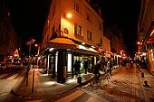 法国巴黎夜景
