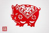 十二生肖-猪