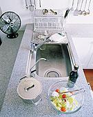 特写,厨房操作台,厨房