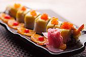 芒果炸虾卷