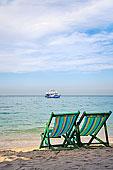 船,海上,沙滩椅,海滩