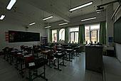 现代建筑,学校,小学教室,童话