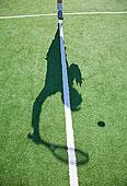 影子,网球