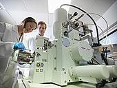 科学家,工作,实验室