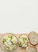 奶酪,洋葱,三明治