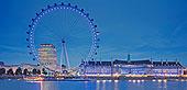 伦敦眼,夜晚,伦敦,英国