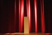 亮灯,舞台,剧院