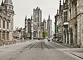 华丽,石头,建筑,城市街道