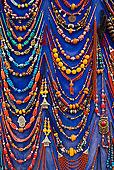 项链,出售,露天市场,麦地那,玛拉喀什,马拉喀什,摩洛哥,北非,非洲