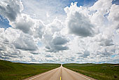 美国,蒙大拿,公路,乌云