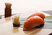 三文鱼,寿司
