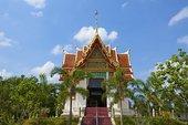 寺院,钳,庙宇,普吉岛,泰国