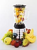 种类,水果,榨汁机