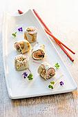 煎饼卷,寿司