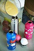 倒出,果汁,榨汁机