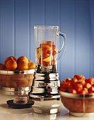 新鲜,水果,旁侧,榨汁机