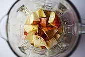 苹果,搅拌机,冰沙