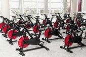 健身自行车,体育馆