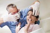 牙医,注射,病人