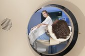 病人,核磁共振扫描