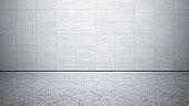 空,房间,墙壁,水泥,纺织品,建筑,粗糙,地面,插画