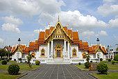 佛教,云石寺,大理石庙宇,曼谷,泰国,亚洲