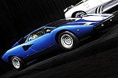 蓝色,兰博基尼,超级跑车,剧院,多伦多,车展,2008年