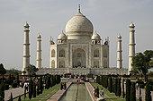 泰姬陵,早晨,亮光,印度