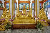 查隆寺,庙宇,普吉岛,泰国