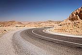 道路,靠近,迈特马泰,突尼斯,区域,北非,非洲