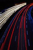 高峰时间,交通,长时间曝光,基尔,石荷州,德国,欧洲