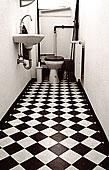 浴室,公寓,老,建筑,德国