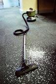 胡佛电动吸尘器,凌乱,地毯