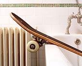 滑板,浴室