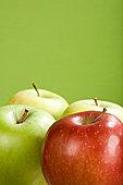 四个,苹果