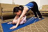 母亲,实践,瑜珈