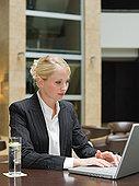 职业女性,笔记本电脑