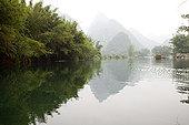 中国,广西,玉龙河