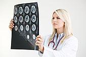 医生,看,核磁共振扫描