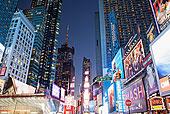 光亮,广告牌,时代广场