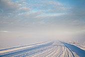 轮胎印,雪,乡村道路