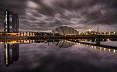苏格兰,格拉斯哥,风景,日落