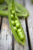 英格兰,新鲜,有机,豌豆荚