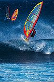 帆板,毛伊岛,夏威夷,美国