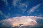 砧座,乌云,龙卷风,安大略省,加拿大