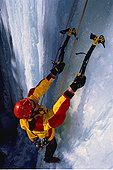 攀冰,落基山脉,艾伯塔省,加拿大