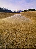 泥,北方,萨斯喀彻温,河,靠近,班芙国家公园,艾伯塔省,加拿大