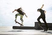 玩滑板,滑板运动场