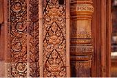 特写,吴哥窟,柬埔寨