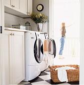 女人,洗衣服